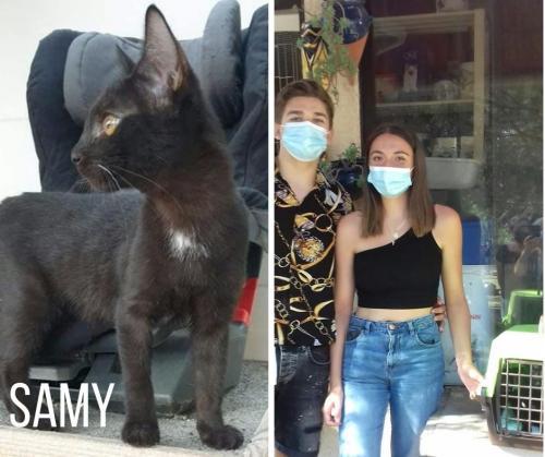SAMY adopté le 20-09-21